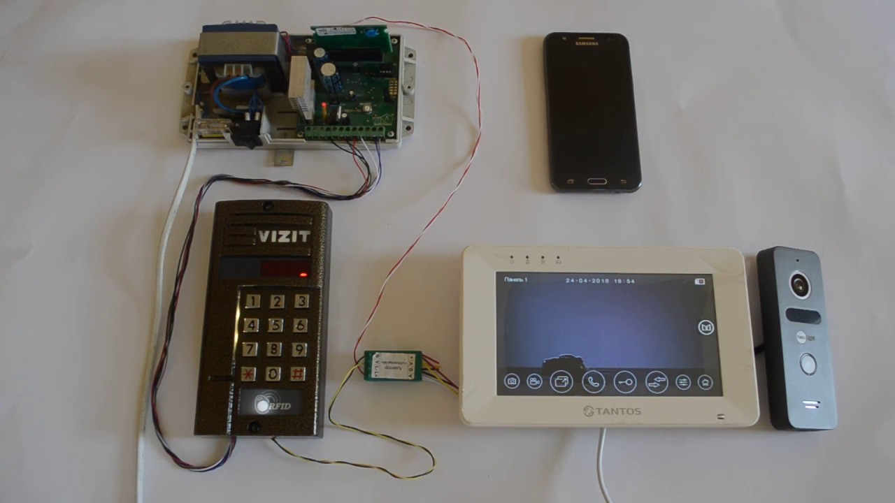 Wi-Fi домофон с вызывной панелью – интернет-технологии на страже дома