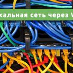 Локальная сеть через WI-FI роутер