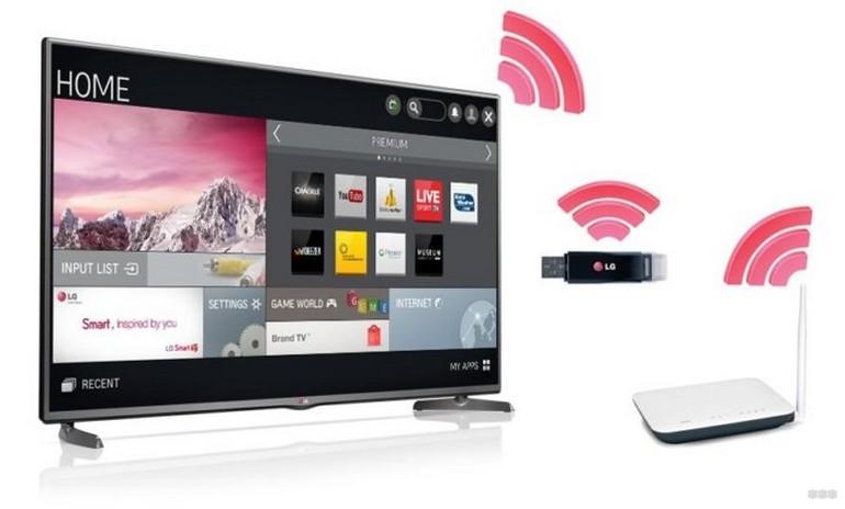 Как подключить Wi-Fi на телевизоре LG: 3 способа, инструкции