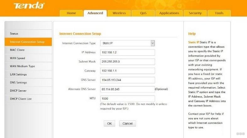 Tenda F3: обзор, доступ в интерфейс и настройки для маршрутизатора