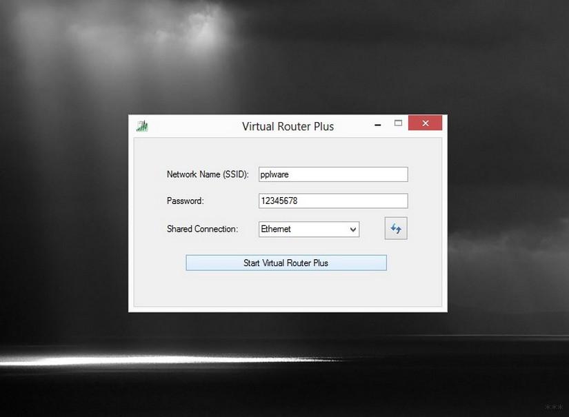 Virtual Router Plus и другие виртуальные роутеры для Wi-Fi