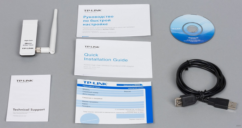 Описание и подключение Wi-Fi адаптера TP-Link Archer T2UH AC600