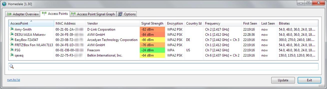 Wi-Fi Scanner и другие программы для сканирования сетей и каналов