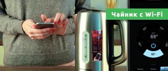 Чайник с Wi-Fi