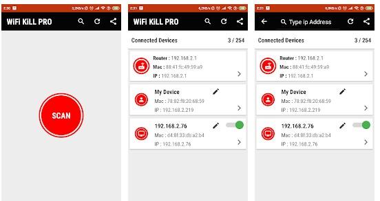 WIFI Killer и WIFI Kill PRO: как скачать, установить и пользоваться