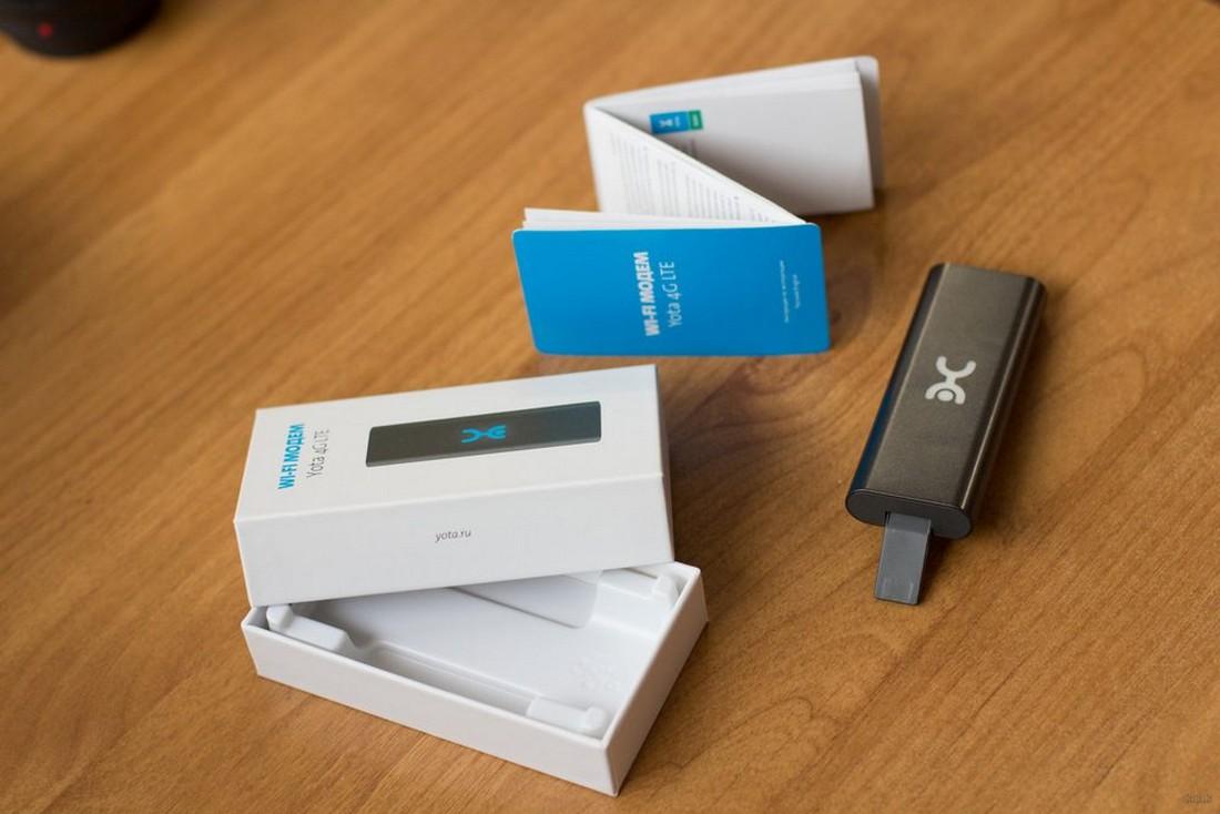 Wi-Fi модем Yota 4G LTE: личный опыт использования