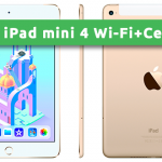 iPad mini 4 Wi-Fi+Cellular 128GB