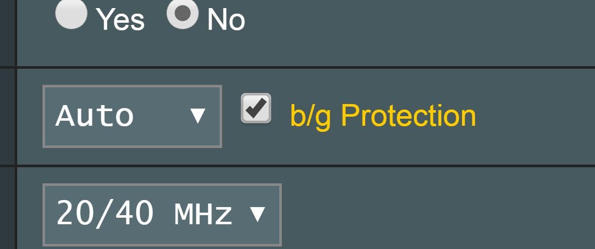 ASUS «b/g Protection»: что это и какой режим сети лучше выбрать?