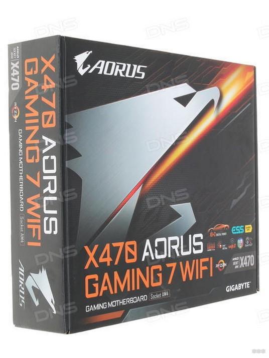 GIGABYTE X470 AORUS Gaming 7 WIFI: игровая материнка с Wi-Fi