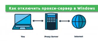 Как отключить прокси-сервер в Windows