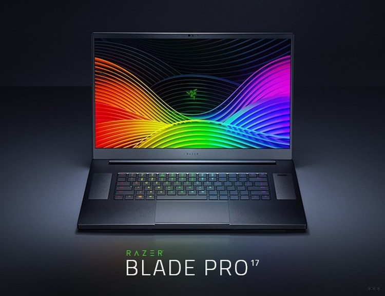Вышел Razer Blade Pro 17 – ноутбук с поддержкой Wi-Fi 6