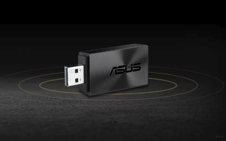 ASUS USB-AC55 B1: новый компактный 802.11ac адаптер от ASUS