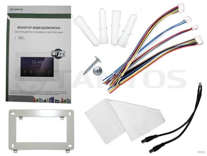 Tantos Rocky Wi-Fi: обзор видеодомофона с дистанционным управлением