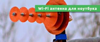 Wi-Fi антенна для ноутбука