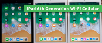 iPad 6th Generation Wi-Fi Cellular