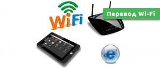 перевод Wi-Fi