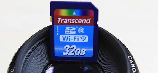 Wi-Fi SD Card: карта памяти с WiFi для фотоаппарата