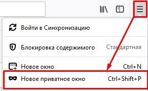 Что такое режим приватного просмотра и как его открыть в Firefox?