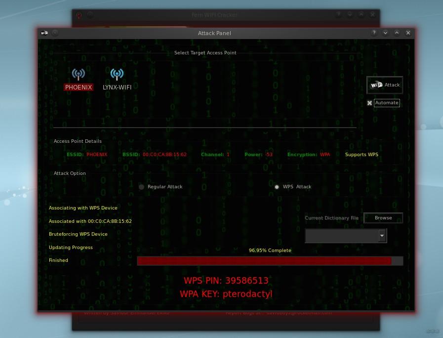 Fern Wifi Cracker: стресс-тест беспроводной сети в картинках