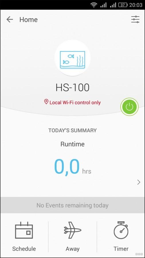 Wi-Fi розетки TP-Link HS-100 и HS-110: обзор, настройка и функции