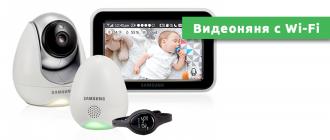 Видеоняня с Wi-Fi