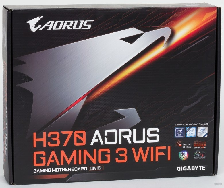 Обзор GIGABYTE H370 AORUS Gaming 3 WiFi от команды WiFiGid