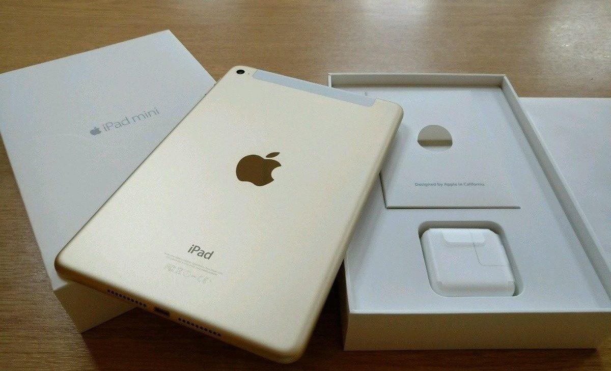 Обзор планшета Apple iPad mini 4 64 GB WiFi Cellular от WiFiGid