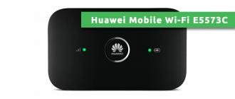 Huawei Mobile Wi-Fi E5573C