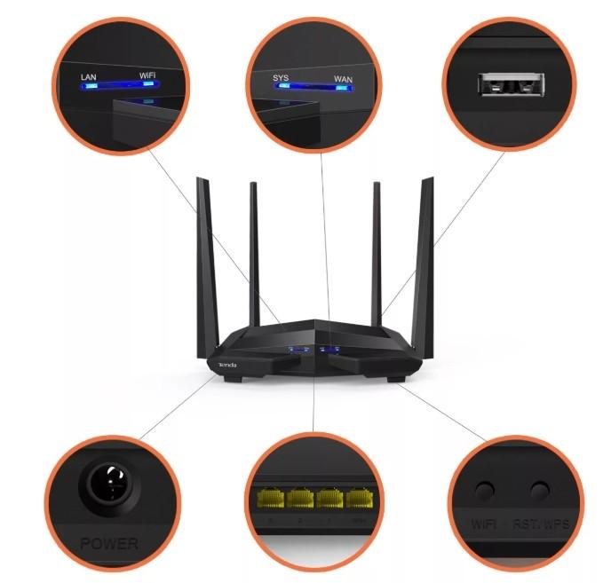 Wi-Fi роутеры с гигабитными портами (1000 Мбит/c) для дома и офиса