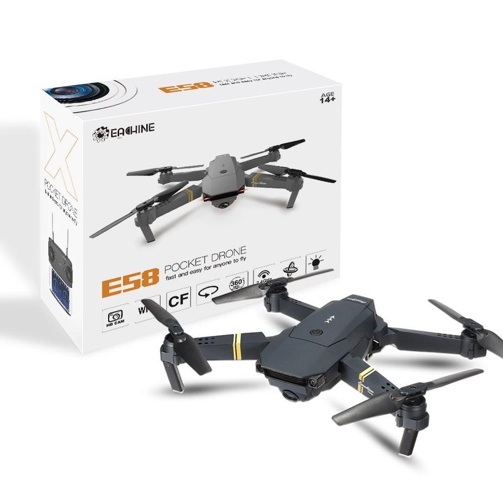 Квадрокоптер Eachine E58 WiFi FPV: обзор популярной модели
