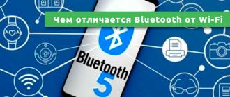 Чем отличается Bluetooth от Wi-Fi