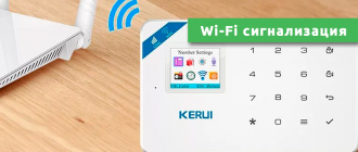 Wi-Fi сигнализация