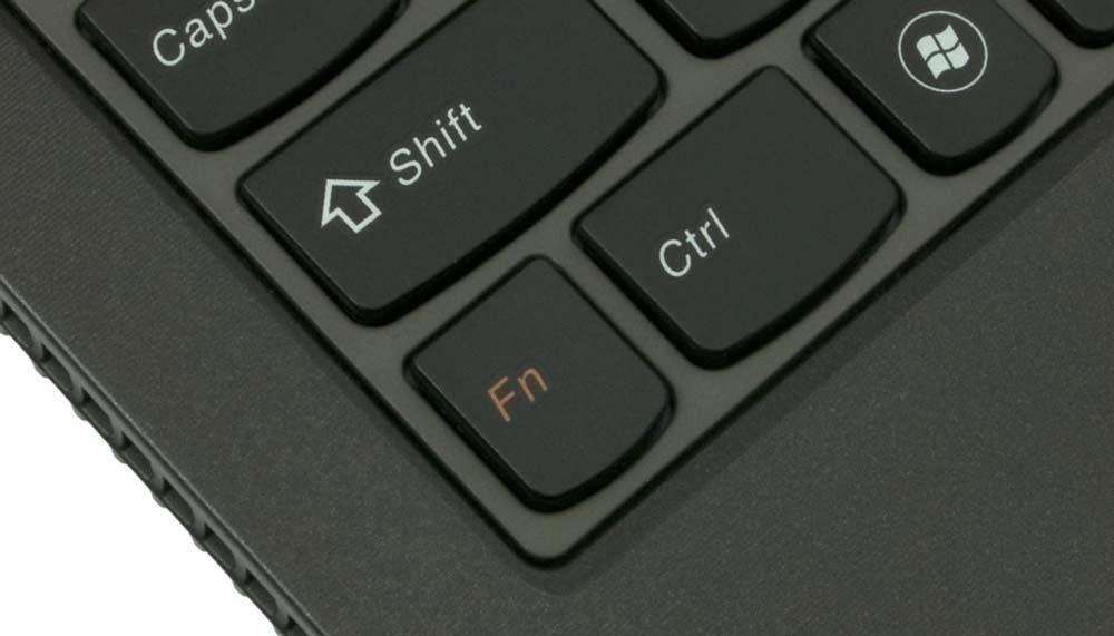 Как на ноутбуке Lenovo отключить и включить клавишу Fn?
