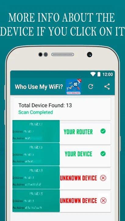 Who s On My Wifi: поиск воров вайфая в домашней сети