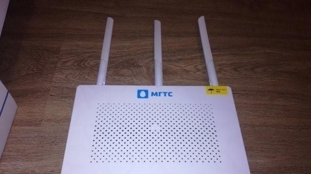 Как подключиться к GPON Wi-Fi роутеру от МГТС: вход в настройки