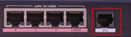 Модем с DSL портом