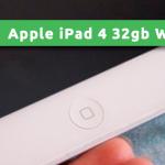 Apple iPad 4 32gb Wi-Fi Cellular