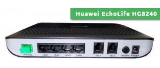 Huawei EchoLife HG8240