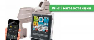 Wi-Fi метеостанция