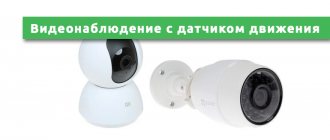 беспроводная камера видеонаблюдения Wi-Fi с датчиком движения