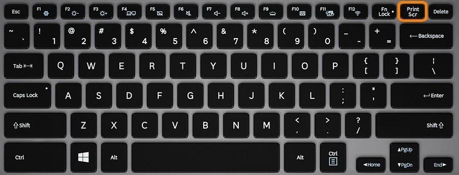 5 способов сделать скрин на ноутбуке с помощью Print Screen