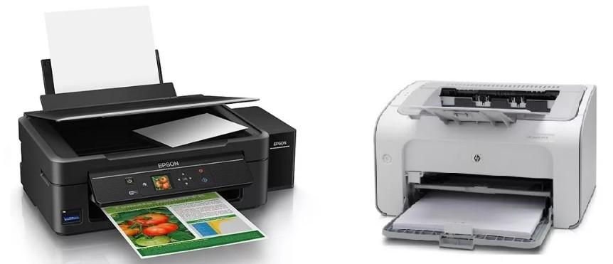 Какой принтер лучше для дома и офиса: лазерный или струйный