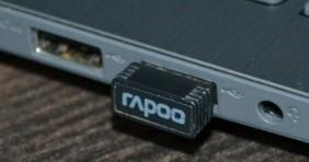 Подключение адаптера от беспроводной мыши к ноутбуку