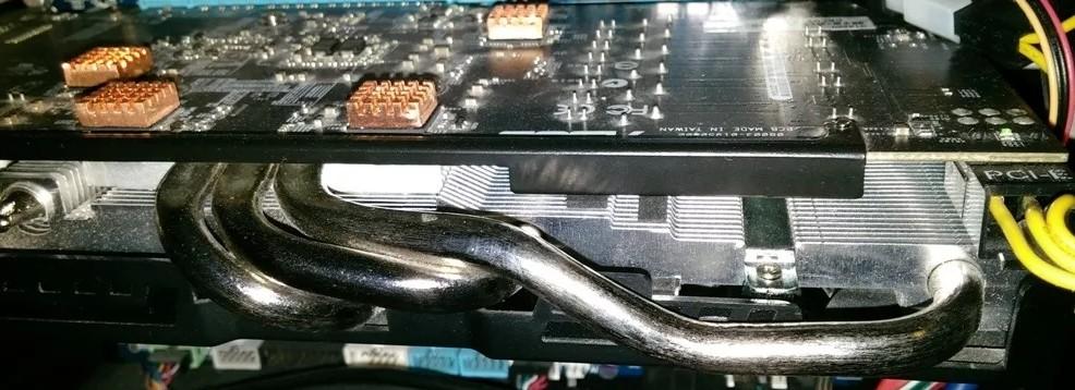 Чистка видеокарты от пыли