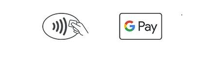 Эмблемы NFC и Google Pay