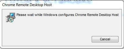 Chrome Remote Desktop Host