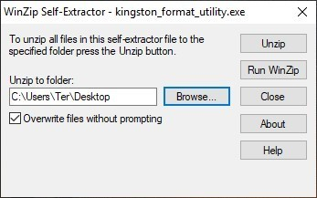 Kingston Format Utility