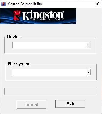 Выбор девайса и файловой системы