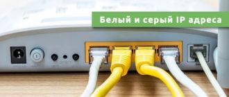Белый и серый IP адреса
