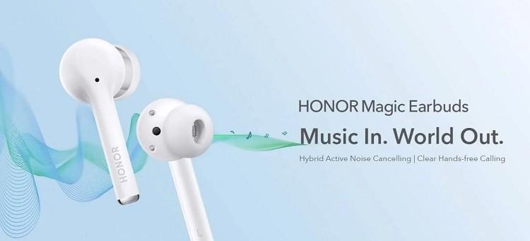 Honor представил свои первые TWS наушники